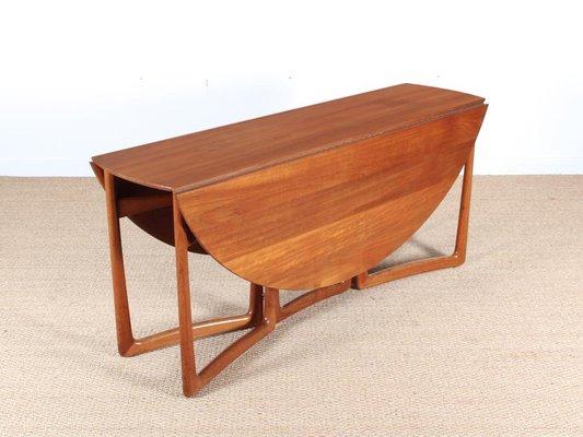 Mid Century Modern Teak 20 59 Folding Dining Table By Hvidt And Mølgaard Nielsen