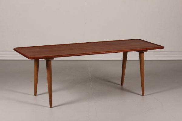 Danish AT 11 Teak Coffee Table By Hans J. Wegner For Andreas Tuck, 1950s