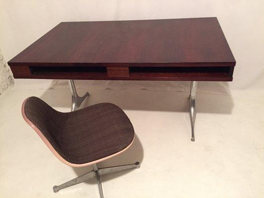 Vintage Schreibtisch Aus Rio Palisaner Von George Nelson Für Herman Miller 2