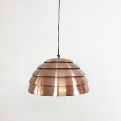Swedish Copper Pendant Light By Hans Agne Jakobsson For Hans Agne Jakobsson  AB, Markaryd,