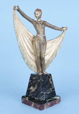 Bronze Figurines For Sale art deco french bronze statuehenri grisard, 1920s for sale at pamono