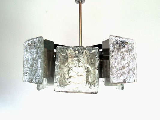 Austrian Murano Glass Ceiling Light from Kalmar, 1960s for sale at ...
