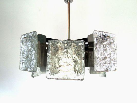 Lampade In Vetro Di Murano : Lampada da soffitto in vetro di murano di kalmar austria anni 60