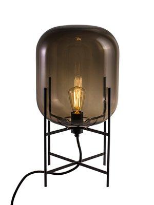 Oda Small Table Lamp In Black By Sebastian Herkner For Pulpo