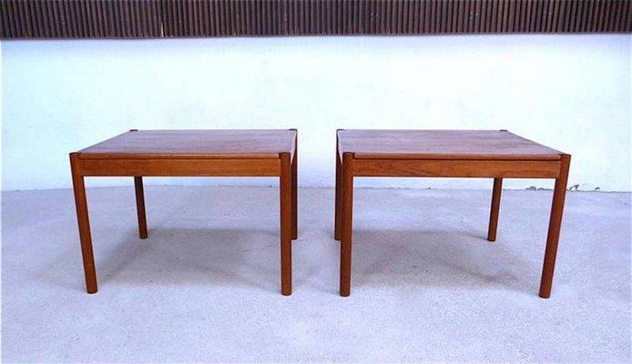 Danish Vintage Teak Side Tables From Magnus Olesen, 1960s, Set Of 2 2