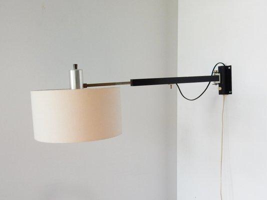 Lampada Vintage Da Parete : Lampada da parete vintage regolabile anni 60 in vendita su pamono