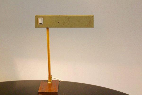 Lampe de bureau ajustable en laiton de pfäffle leuchten allemagne