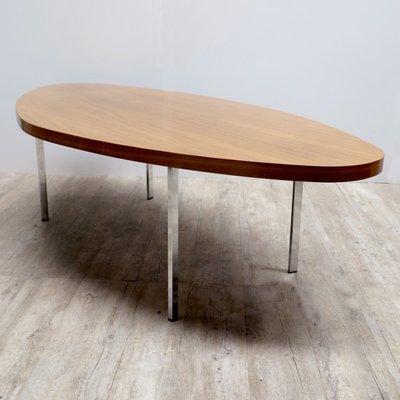 Merveilleux Vintage Oval Coffee Table 2