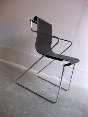 chaise de bureau vintage en mtal 2 - Chaise De Bureau Vintage