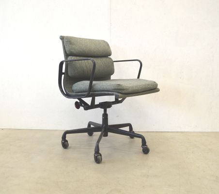 American Ea217 Aluminum Office Chair By Charles Ray Eames For Herman Miller