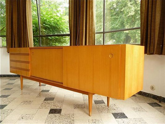 Cherrywood Sideboard With Sliding Doors From Wilhelm Renz 2