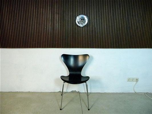 Applique murale moderniste en verre de peill & putzler allemagne