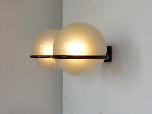 Lampada da parete modello 327 2 di gino sarfatti per arteluce in