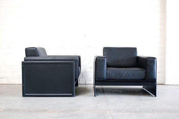Matteo Grassi Design.Korium Km 3 1 Armchairs By Tito Agnoli For Matteo Grassi Set Of 2