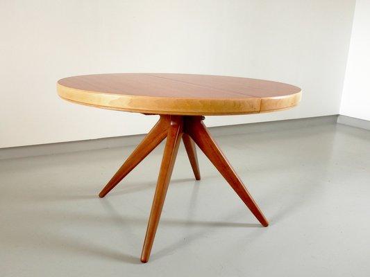 Table de Salle à Manger Futura Extensible par David Rosén pour Nordiska  Kompaniet, 1952