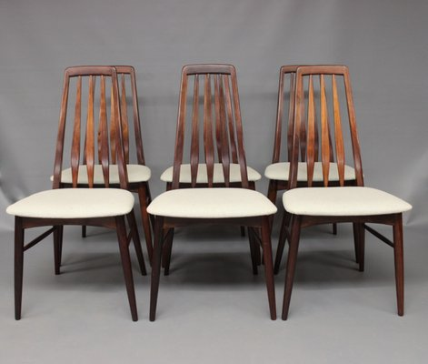 Marvelous Eva Dining Chairs By Niels Koefoed 1960S Set Of 6 Creativecarmelina Interior Chair Design Creativecarmelinacom