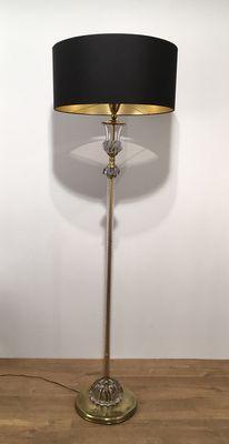 glass floor lamp. Murano Glass Floor Lamp, 1940s 1 Lamp