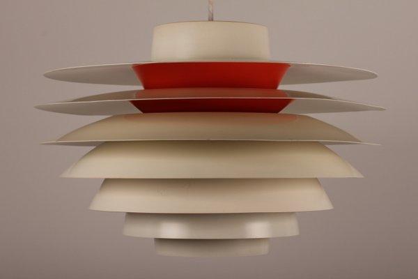 Danish Verona Pendant Light By Svend Middelboe For Nordisk Solar 1960s
