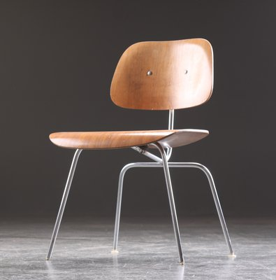 Dcm Dining Chair By Charles Ray Eames For Herman Miller 1955 For