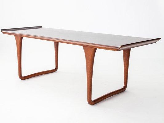 Coffee Table.Vintage Rectangular Rosewood Coffee Table By Svante Skogh For Smi