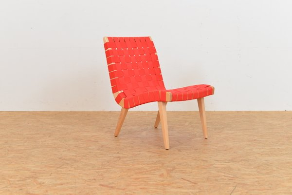 American 654 Lounge Chair By Jens Risom For Knoll, 1950s 1