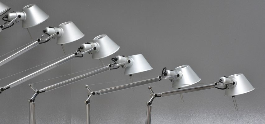 Tolomeo Desk Lamp By Michele De Lucchi U0026 Giancarlo Fassina For Artemide, ...