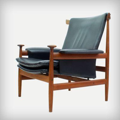 model 152 bwana lounge chair by finn juhl for france søn 1962 for