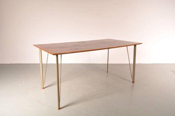 Tavolo da pranzo di Arne Jacobsen per Fritz Hansen, Danimarca, anni ...
