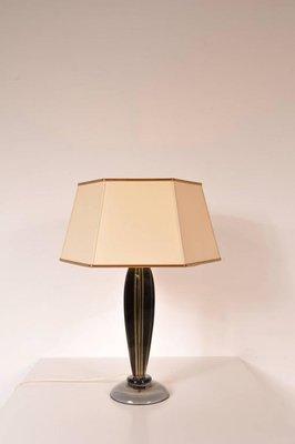 Gentil Italian Table Lamp By Flavio Poli For Seguso, 1960s 2