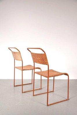 Bauhaus Prototype Dining Chairs 1930s Set Of 2 330700