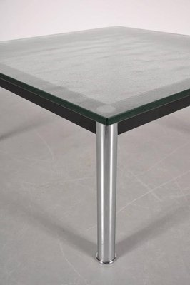 Italian LC10 Coffee Table By Le Corbusier For Cassina, 1980s 7