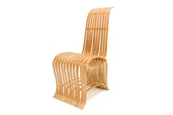 Chaise Bambou Vintage 1