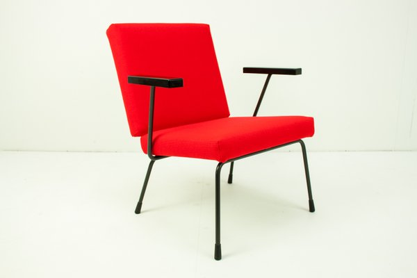 Rietveld stuhl zeichnung  415/1401 Stuhl von Wim Rietveld für Gispen, 1950er bei Pamono kaufen