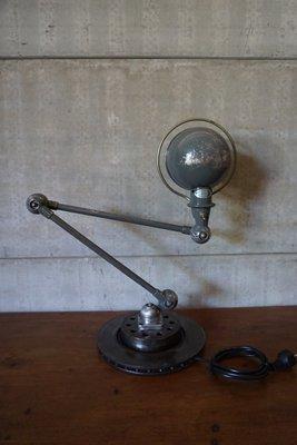 Lampe De Bureau Articulee Industrielle Vintage De Jielde 1950s En
