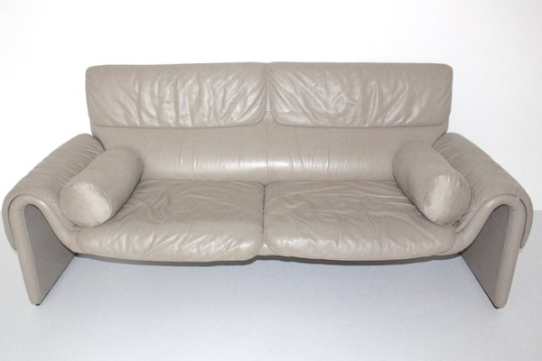 Vintage DS-2011 Leather Sofa from De Sede, 1980s for sale at Pamono