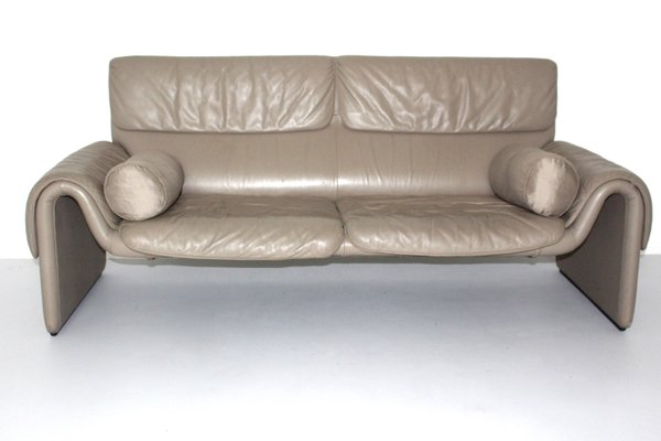 Vintage Ds 2017 Leather Sofa From De Sede 1980s 1
