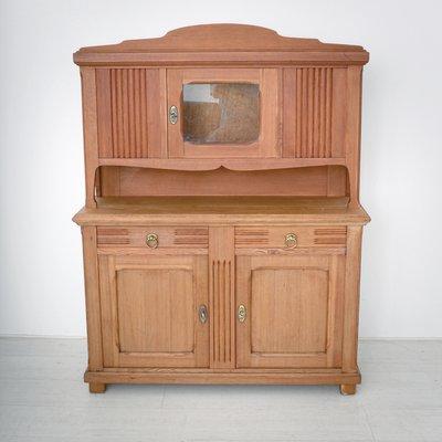 Dispensa da cucina Art Nouveau in pino, anni \'20 in vendita su Pamono