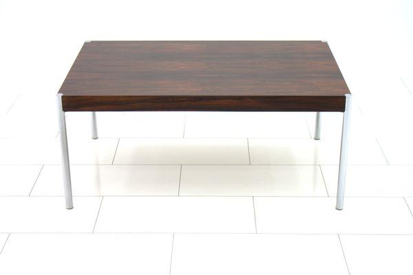 Swiss Rosewood Sofa Table By Edlef Bandixen 1970s 1
