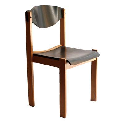Französischer Zweifarbiger Zweifarbiger Buchenholz Französischer Zweifarbiger Buchenholz Buchenholz Stuhl1980er Buchenholz Französischer Französischer Stuhl1980er Zweifarbiger Stuhl1980er XZOuPki