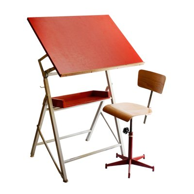 Awesome French Drawing Table And Chair 1970S Onthecornerstone Fun Painted Chair Ideas Images Onthecornerstoneorg