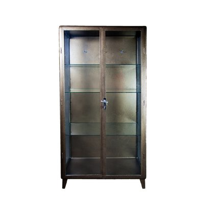 Polish Doctoru0027s Medical Cabinet In Antique Gold, 1920s
