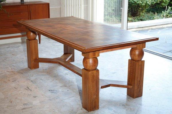 Tavolo da pranzo allungabile in legno naturale di Baptistin Spade ...
