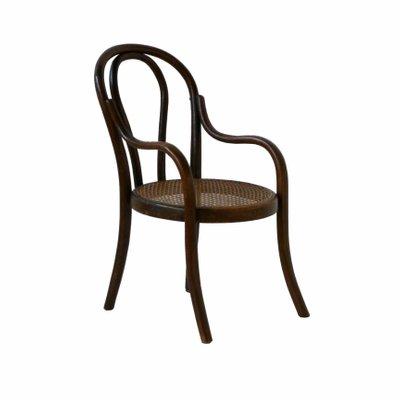 Childs Wooden Chair From Fischel