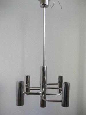 Hanging Lamp by Sciolari Boulanger1960s Gaetano for mN80vnw
