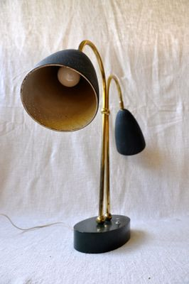 Double Light Table Lamp 1950s For Sale At Pamono