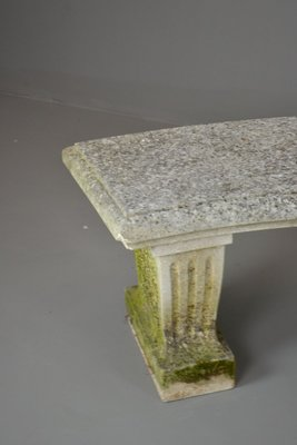 Vintage Cast Stone Garden Benches, Set Of 2 5