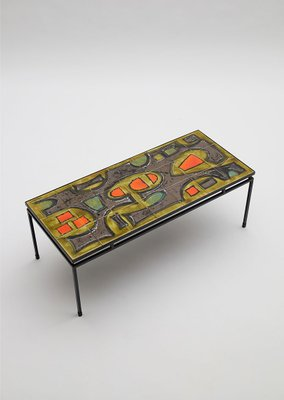Charmant Handpainted Ceramic Coffee Table By Juliette Belarti 1