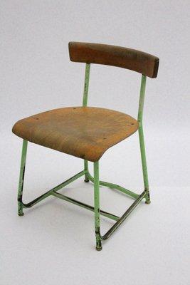 Chaise DEnfant Industrielle 1930s 1