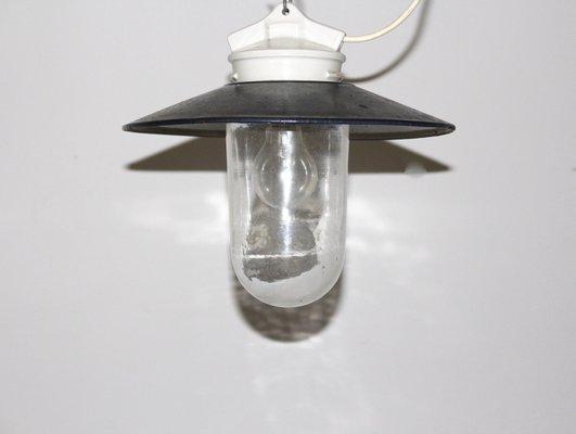 Lampada da soffitto industriale anni 60 in vendita su pamono