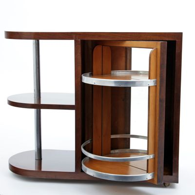 French Art Deco Bar Cabinet, 1920s for sale at Pamono